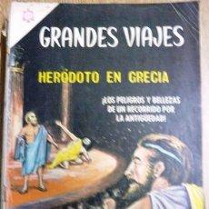 Tebeos: GRANDES VIAJES # 34 - AÑO 1965 - NOVARO - HERÓDOTO EN GRECIA - JOYA DE COLECCION. Lote 30840432