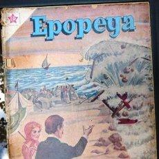 Tebeos: EPOPEYA # 31 NOVARO 1960 EL CANAL DE SUEZ CON FALTANTES. Lote 30856175