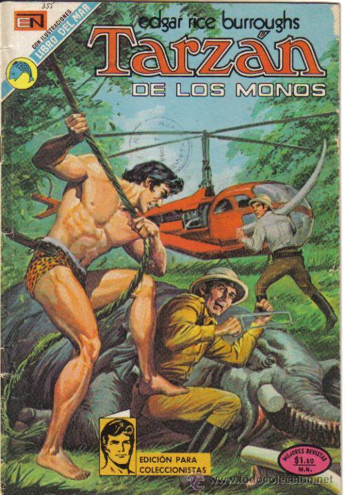 TARZAN Nº 355. NOVARO 1973. LITERACOMIC. (Tebeos y Comics - Novaro - Tarzán)