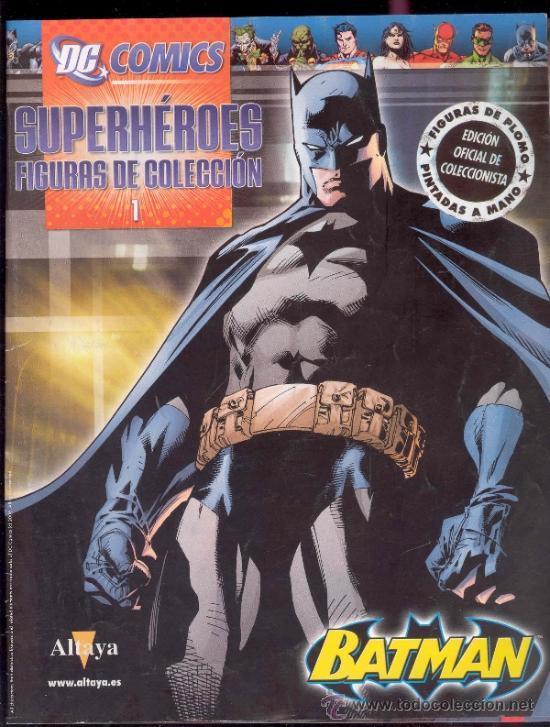 FASCICULO Nº1 - SUPERHEROES FIGURAS DE COLECCION - EDICIONES ALTAYA 2008 (Tebeos y Comics - Novaro - Batman)