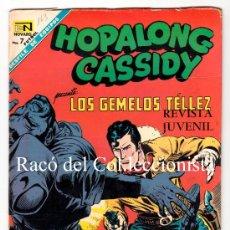Comics - HOPALONG CASSIDY Nº 163. LOS GEMELOS TELLEZ. NOVARO AÑO: 1968 (WILLIAM BOYD) - 31077533