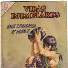 Tebeos: SAN LORENZO O'TOOLE. VIDAS EJEMPLARES Nº 220. NOVARO 1966. LITERACOMIC.. Lote 49488485