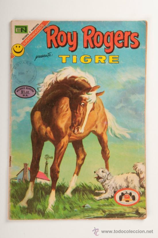 TEBEO - COMIC, ROY ROGERS Nº278 - TIGRE - EDITORIAL NOVARO, AÑO 1972 (Tebeos y Comics - Novaro - Roy Roger)