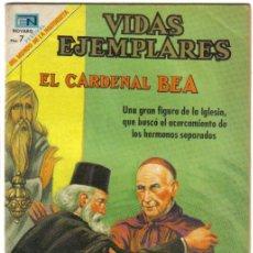Tebeos: EL CARDENAL BEA. VIDAS EJEMPLARES Nº 296. NOVARO 1969. LITERACOMIC.. Lote 31110096