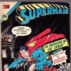 Tebeos: SUPERMAN 894 - EL PRINCIPE DE LOS LOBOS - NOVARO 1973. Lote 31170564