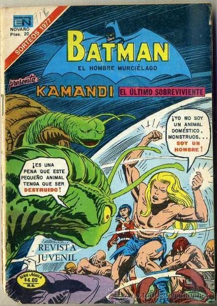 BATMAN KAMANDI Nº 2-916 (1978) 14X19 CM. (Tebeos y Comics - Novaro - Batman)