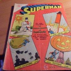 Tebeos: SUPERMAN Nº 107 CON CALENDARIO SUPERMAN 1957 ( ORIGINAL ED. NOVARO ) (NOV1). Lote 31372206