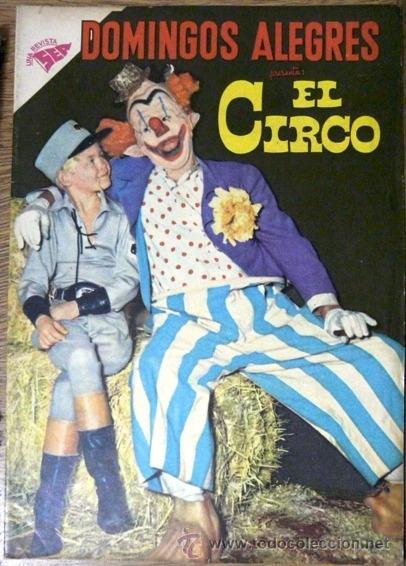 DOMINGOS ALEGRES # 260 - EL CIRCO - NOVARO (SEA) - AÑO 1959 - EXCELENTE ESTADO (Tebeos y Comics - Novaro - Domingos Alegres)