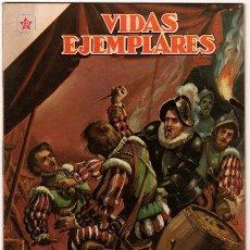 Tebeos: VIDAS EJEMPLARES # 38 - SAN CAMILO DE LELIS, PADRES DE LA BUENA MUERTE NOVARO 1957 IMPECABLE. Lote 31764006