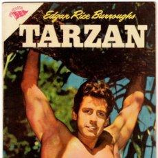 Tebeos: TARZAN # 68 - AÑO 1957 - GORDON SCOTT EN TAPA - NOVARO (SEA) - IMPECABLE ESTADO. Lote 31790517