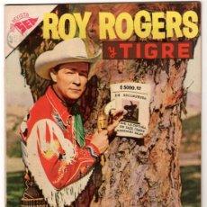 Tebeos: ROY ROGERS # 56 EL CABALLERO ROJO NOVARO 1957 IMPECABLE ESTADO. Lote 31890122