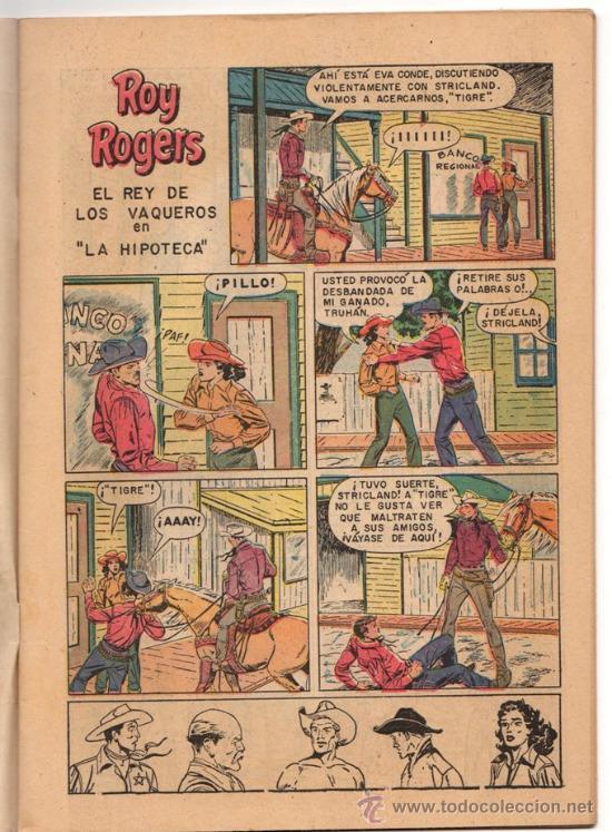 Tebeos: ROY ROGERS # 56 EL CABALLERO ROJO NOVARO 1957 IMPECABLE ESTADO - Foto 3 - 31890122
