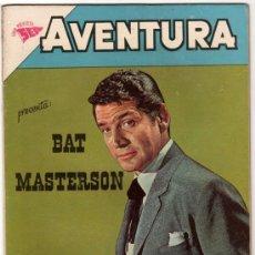 Tebeos: AVENTURA # 217 BAT MASTERSON GENE BARRY NOVARO AÑO 1962 MUY BUEN ESTADO. Lote 32010938