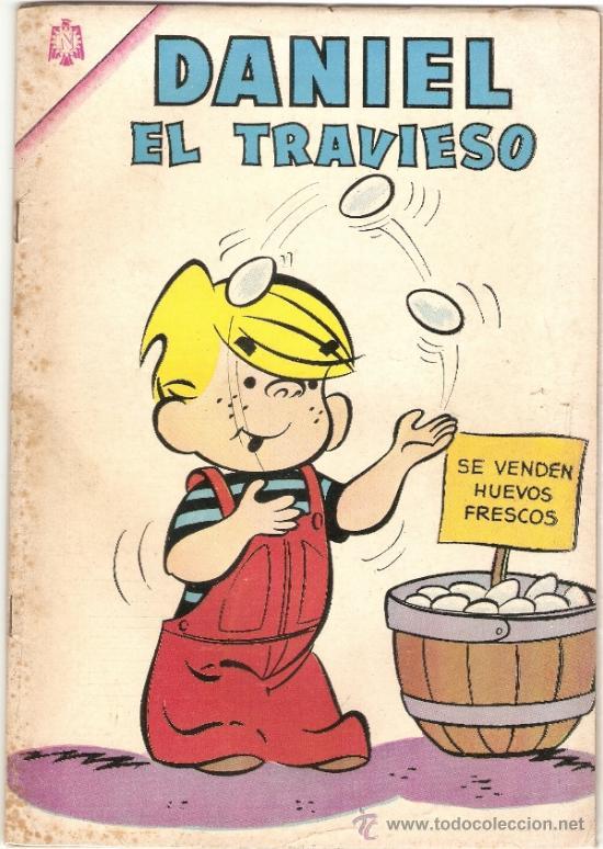 DANIEL EL TRAVIESO N° 24 * NOVARO * AÑO 1966 * (Tebeos y Comics - Novaro - Otros)
