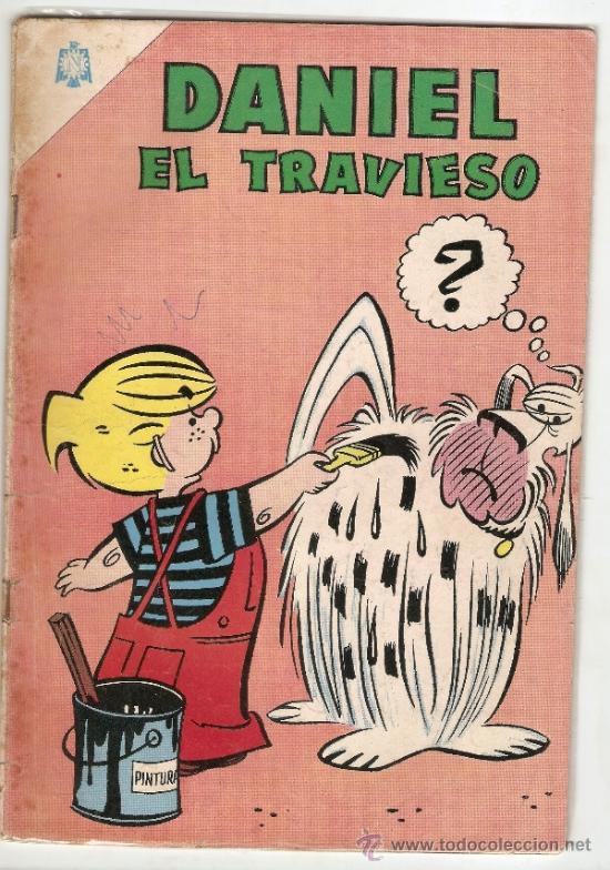 DANIEL EL TRAVIESO N° 9 * NOVARO * AÑO 1965 * (Tebeos y Comics - Novaro - Otros)