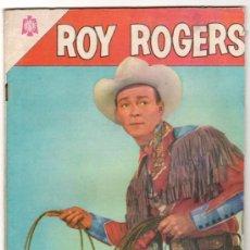 Tebeos: ROY ROGERS # 144 - LA BARRANCA DEL ORO - NOVARO - 1964 - CON DETALLES. Lote 32068457