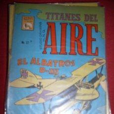 BDs: LA PRENSA - TITANES DEL AIRE - NUMERO 27. Lote 32131585