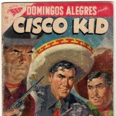 Tebeos: DOMINGOS ALEGRES # 202 CISCO KID NOVARO (SEA) 1958 CON DETALLES. Lote 32143949