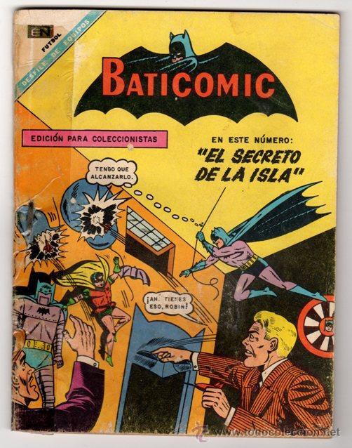 BATICOMIC # 13 BATMAN, JULIO JORDAN, IMPOSIBLE.. NOVARO 1968 IMPECABLE ESTADO 64 PAG (Tebeos y Comics - Novaro - Batman)