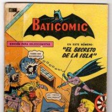 Tebeos: BATICOMIC # 13 BATMAN, JULIO JORDAN, IMPOSIBLE.. NOVARO 1968 IMPECABLE ESTADO 64 PAG. Lote 32184586