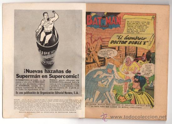Tebeos: BATICOMIC # 13 BATMAN, JULIO JORDAN, IMPOSIBLE.. NOVARO 1968 IMPECABLE ESTADO 64 PAG - Foto 2 - 32184586