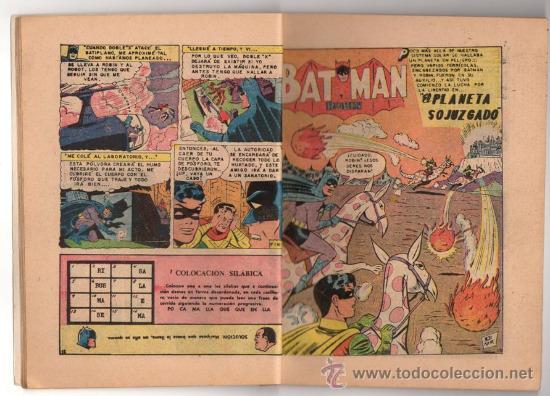 Tebeos: BATICOMIC # 13 BATMAN, JULIO JORDAN, IMPOSIBLE.. NOVARO 1968 IMPECABLE ESTADO 64 PAG - Foto 3 - 32184586