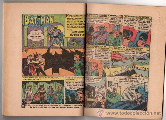 Tebeos: BATICOMIC # 13 BATMAN, JULIO JORDAN, IMPOSIBLE.. NOVARO 1968 IMPECABLE ESTADO 64 PAG - Foto 5 - 32184586