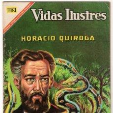 Tebeos: VIDAS ILUSTRES # 170 HORACIO QUIROGA NOVARO 1967 EXCELENTE ESTADO. Lote 32206833