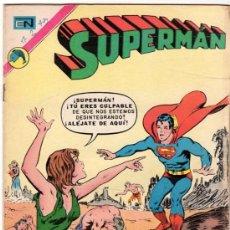 Tebeos: SUPERMAN # 889 - EL ENEMIGO MORTAL - NOVARO - 1972 - . Lote 32228581