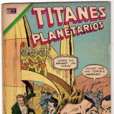 Tebeos: TITANES PLANETARIOS # 358 EL HOMBRE DE LOS MIL DISFRACES - NOVARO 1971 -. Lote 32259147