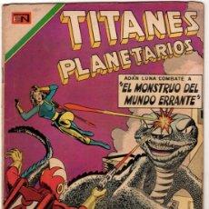 Tebeos: TITANES PLANETARIOS # 338 EL DIA QUE LA TIERRA SE RINDIO NOVARO 1970 MYSTERY IN SPACE # 55. Lote 32259635