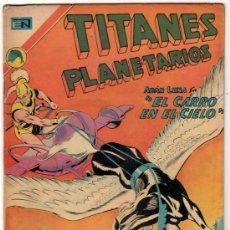 Tebeos: TITANES PLANETARIOS # 380 LOS ARBOLES DANZANTES DE POLARIS SIETE - NOVARO 1972 -. Lote 32259638