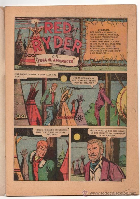 Tebeos: RED RYDER # 184 - NOVARO 1968 - FUTBOL: PACHUCA, ATLAS, CRUZ AZUL & NUEVO LEON - - Foto 3 - 32279666