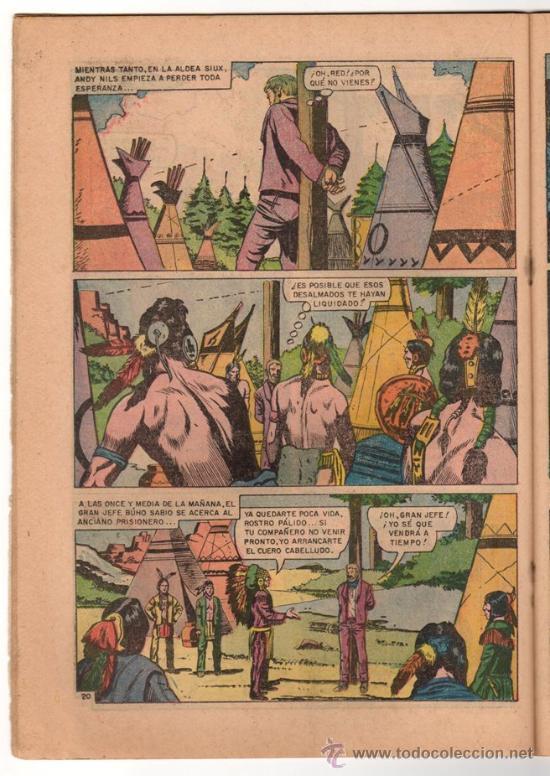 Tebeos: RED RYDER # 184 - NOVARO 1968 - FUTBOL: PACHUCA, ATLAS, CRUZ AZUL & NUEVO LEON - - Foto 4 - 32279666