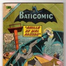 Tebeos: BATICOMIC # 15 BATMAN, JULIO JORDAN, IMPOSIBLE.. NOVARO 1968 IMPECABLE ESTADO 64 PAG. Lote 32296433