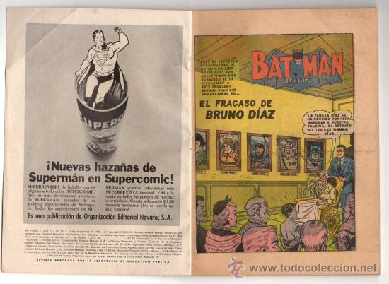 Tebeos: BATICOMIC # 15 BATMAN, JULIO JORDAN, IMPOSIBLE.. NOVARO 1968 IMPECABLE ESTADO 64 PAG - Foto 3 - 32296433