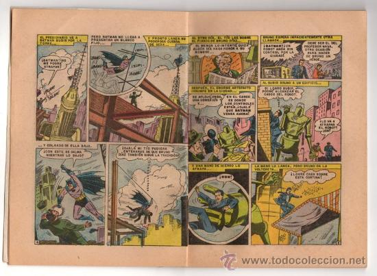 Tebeos: BATICOMIC # 15 BATMAN, JULIO JORDAN, IMPOSIBLE.. NOVARO 1968 IMPECABLE ESTADO 64 PAG - Foto 4 - 32296433