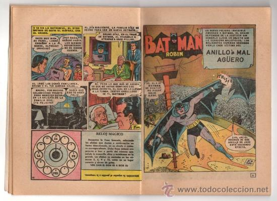 Tebeos: BATICOMIC # 15 BATMAN, JULIO JORDAN, IMPOSIBLE.. NOVARO 1968 IMPECABLE ESTADO 64 PAG - Foto 5 - 32296433