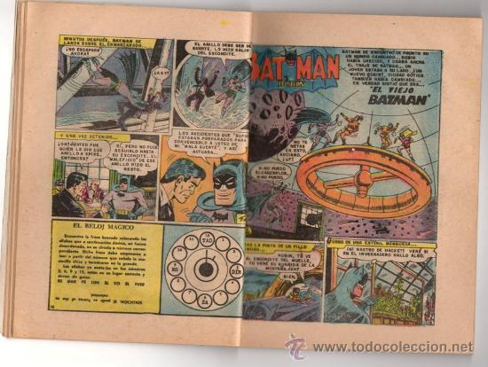 Tebeos: BATICOMIC # 15 BATMAN, JULIO JORDAN, IMPOSIBLE.. NOVARO 1968 IMPECABLE ESTADO 64 PAG - Foto 6 - 32296433
