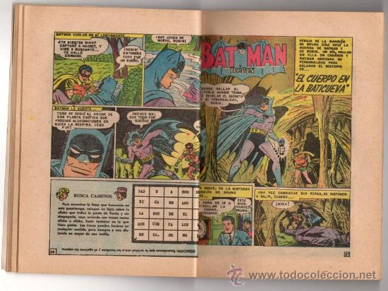 Tebeos: BATICOMIC # 15 BATMAN, JULIO JORDAN, IMPOSIBLE.. NOVARO 1968 IMPECABLE ESTADO 64 PAG - Foto 7 - 32296433