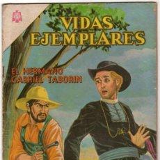 Tebeos: VIDAS EJEMPLARES # 180 EL HERMANO GABRIEL TABORIN NOVARO 1964 BUEN ESTADO. Lote 32324848
