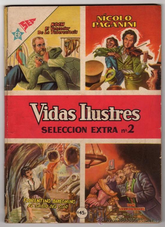 VIDAS ILUSTRES ESPECIAL # 2 PAGANINI & JOYAS MITOLOGIA # 2 TROYA NOVARO - EXCELENTE ESTADO - 96 PAG (Tebeos y Comics - Novaro - Vidas ilustres)