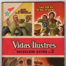 Tebeos: VIDAS ILUSTRES ESPECIAL # 2 PAGANINI & JOYAS MITOLOGIA # 2 TROYA NOVARO - EXCELENTE ESTADO - 96 PAG. Lote 32377350
