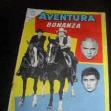 Tebeos: BONANZA. AVENTURA Nº 381. EDITORIAL NOVARO MADE IN SPAIN LANGUAGE SPAIN. Lote 32393049
