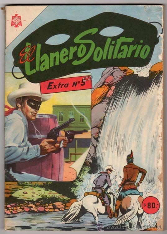 EL LLANERO SOLITARIO # 5 EXTRA - NOVARO DECADA 1960 - HISTORIAS FANTASTICAS - 128 PAGINAS (Tebeos y Comics - Novaro - Sci-Fi)