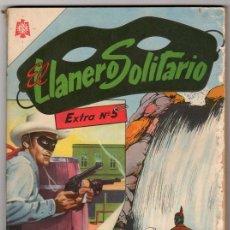 Tebeos: EL LLANERO SOLITARIO # 5 EXTRA - NOVARO DECADA 1960 - HISTORIAS FANTASTICAS - 128 PAGINAS. Lote 32456815