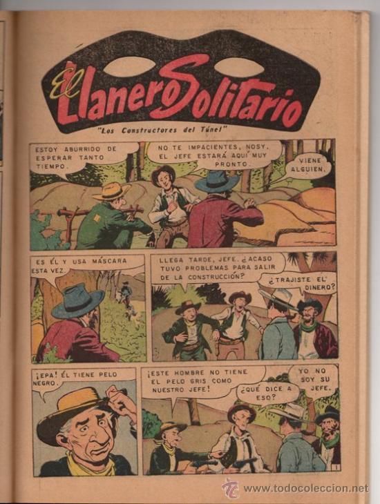 Tebeos: EL LLANERO SOLITARIO # 5 EXTRA - NOVARO DECADA 1960 - HISTORIAS FANTASTICAS - 128 PAGINAS - Foto 3 - 32456815