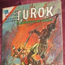 Tebeos: COMIC TUROK EL GUERRERO DE PIEDRA Nº 81 DE 1975 DE NOVARO. Lote 63559515