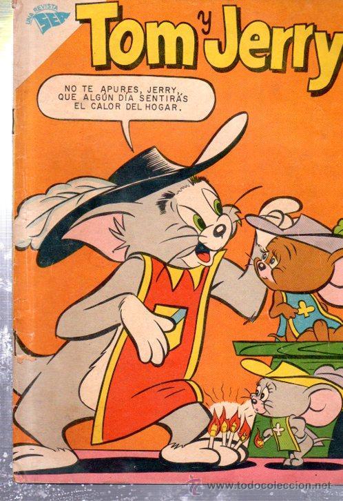 TOM Y JERRY, UNA REVISTA SEA, NOVARO, AÑO XI, Nº 124, 1959, EDITADA EN MÉJICO (Tebeos y Comics - Novaro - El Llanero Solitario)