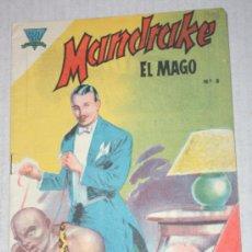 Tebeos: MANDRAKE EL MAGO Nº 8 (EDITORIAL EDMAL DE BUENOS AIRES, MARZO DE 1960 ) RARISIMO. Lote 33260693